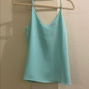 Forever 21 Mint Cami Top
